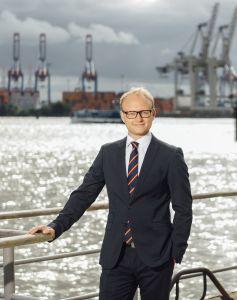 Der hafenpolitische Sprecher und parlamentarische Geschäftsführer der FDP-Bürgerschafzsfraktion Michael Kruse, MdHB