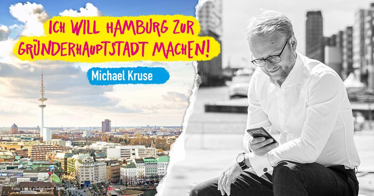 Gründerhaupstadt Hamburg - Für Start-ups