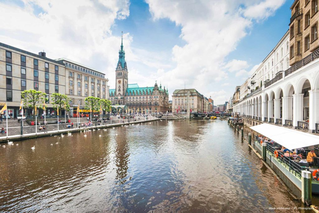 Hamburg Wirtschaftspolitik im Rathaus