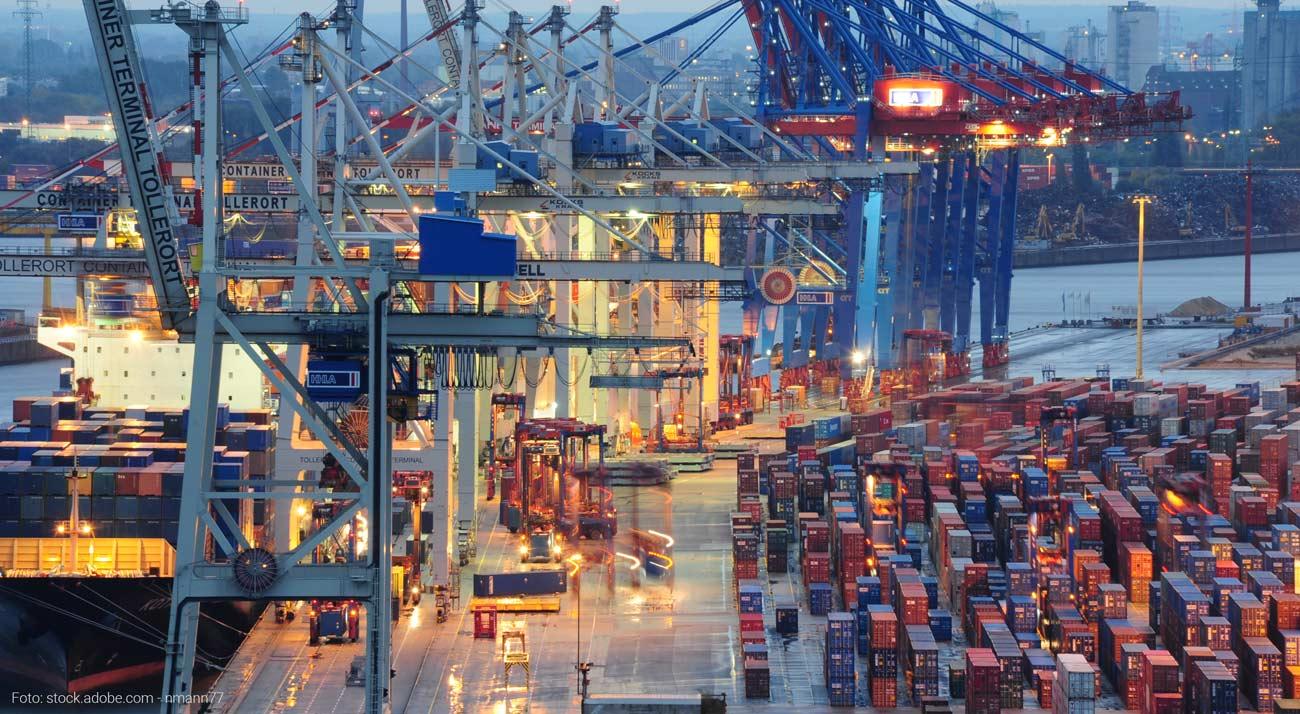 Hamburger Hafen Containerterminal